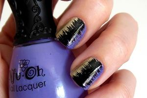Nail Art - Effet Couture