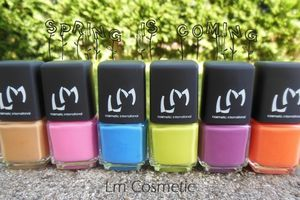 Lm Cosmetic - Collection Spring is coming (3ème partie)