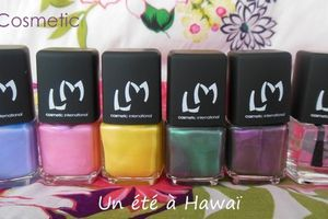 "Lm Cosmetic - Collection ""Un été à Hawaii"""