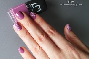 Nail Art - Water decals Y067 // Lm Cosmetic