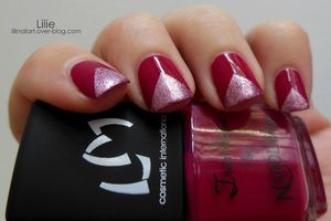 Nail Art Triangle / Lm Cosmetic