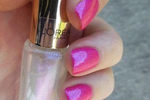 Revlon - Fushia Fever / L'Oréal + Accent nail