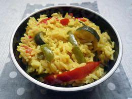 Recette brûle-graisse : Paella végétariènne