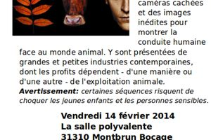 """Projection/Débat """"Terriens"""" : Vendredi 14 février :Montbrun Bocage"""