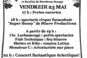 """Ouverture de """"La Grangette""""Centre culturel et familial à Montbrun Bocage le 23 mai"""