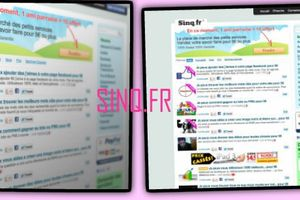 Decouverte#3 Le site Sinq.fr
