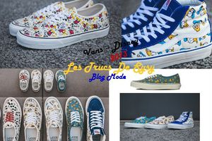 Collection Sneakers 2013 : Vans – Disney