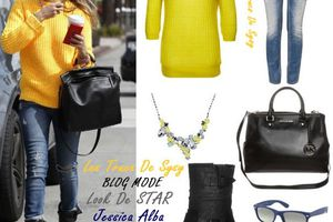 GET THE LOOK - Jessica Alba