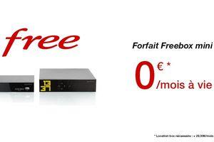 Freebox à 0 euro/mois : Free trolle ses...