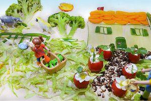 Et si on faisait une maison avec des légumes