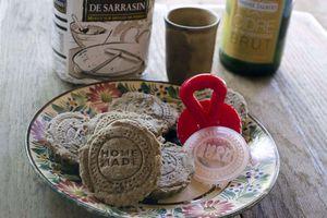 Petits sablés au sarrasin du Chef Breton Patrick Jeffroy