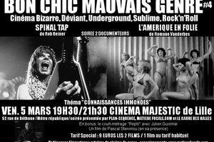 """BON CHIC MAUVAIS GENRE No4 (Théma """"CONNAISSANCES IMMONDES"""") Spécial Documenteur: Rien n'est vrai, tout est permis !"""