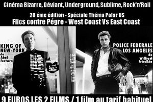 BON CHIC MAUVAIS GENRE #20 (Spécial Polar U.S): Flics contre Pègre, West Coast Vs East Coast !