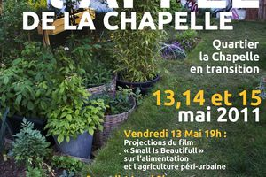 L'appel de La Chapelle les 11, 12, 13 mai 2011 par l'association ECOBOX