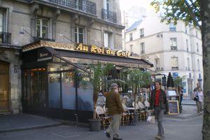 Les Terrasses de Café à La Chapelle