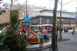 Ouverture à Paris en septembre 2010 de la halle du marché couvert La Chapelle