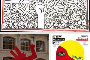 Keith Haring au centquatre jusqu'au 18 août 2013