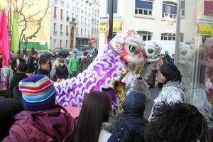 Nouvel An Chinois à La Chapelle sous le signe du Tigre
