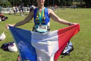 Mon 1er marathon international.