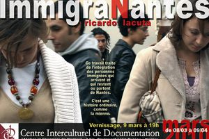 "Exposition ""ImmigraNantes"" de Ricardo Lacuta. Vernissage le 9 mars"