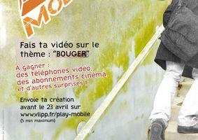 """""""Bouger"""" : Concours vidéo sur téléphone portable. 1er mars au 23 avril"""