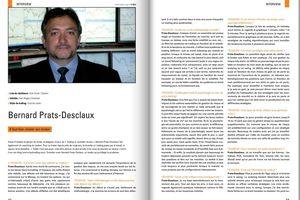Interview dans Trader's Mag Décembre 2013
