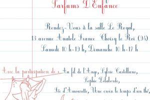 """Notre expo """"Parfums d'enfance"""" les 11 et 12 Octobre 2014"""