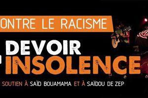 Solidarité avec Saïdou (Z.E.P) et Saïd Bouamama : Pour le droit à l'insolence antiraciste, la pétition
