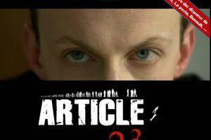 Article 23, un film de résistance de Jean-Pierre Delépine, actuellement en salles