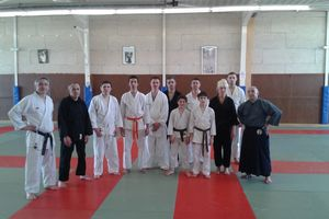 karate do shotokai tournon, stage adultes ado janvier 2015