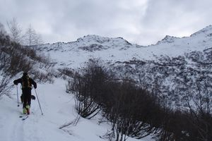 Combe Bronsin (couloir Nord) + Marmottes Noires (Face ouest)