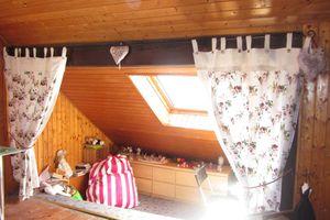 des rideaux romantiques...