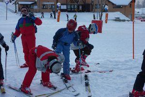 Les skieurs confirmés...