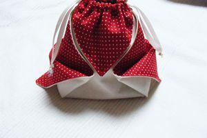 Petit pochon mignon, petite bourse, petit sac japonais...