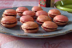 Macarons à la confiture de fraise...pour maman pressée