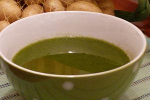 Soupe de vert de poireaux...plus simple que ça, c'est dur !