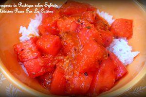 Curry express de pastèque, si parfumé !