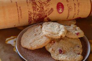 Cookies façon Laura Todd's aux fruits confits et rhum vieux 1996