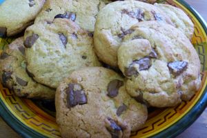 Cookies version noisette et chocolat au lait - recette à 6 mains
