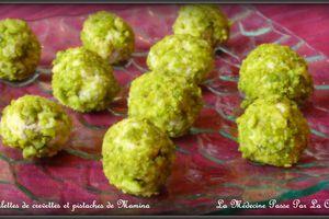 Boulettes de crevettes à la pistache