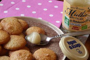Macarons au miel de mandarinier de Rigoni avant le bug de la rentrée