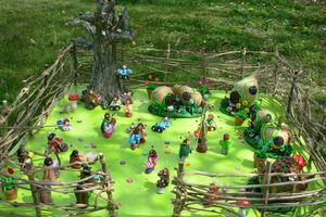 Un village de Loutàans...