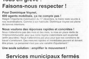 La colère monte chez les communaux de Montreuil