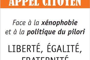 Appel pour un 1er mai de refus du racisme et de la xénophobie