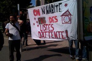 Samedi 6 août : Marche des sans toit.