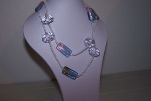 Collier transparence