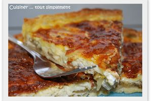 Tarte Endives - Camembert