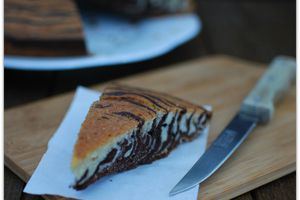 Gâteau Zébré ...