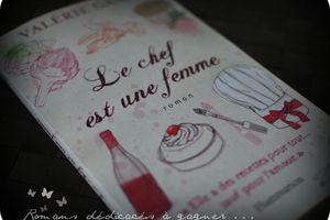 """Le roman : """"Le Chef est une femme"""" à gagner ..."""
