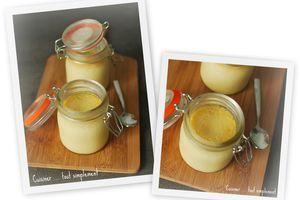 Crèmes au Chocolat Blanc et Noix de CoCo